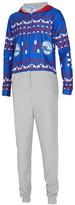 Unbranded Men's Concepts Sport Philadelphia 76ers Ugly Sweater Fleece Hoodie Union Suit