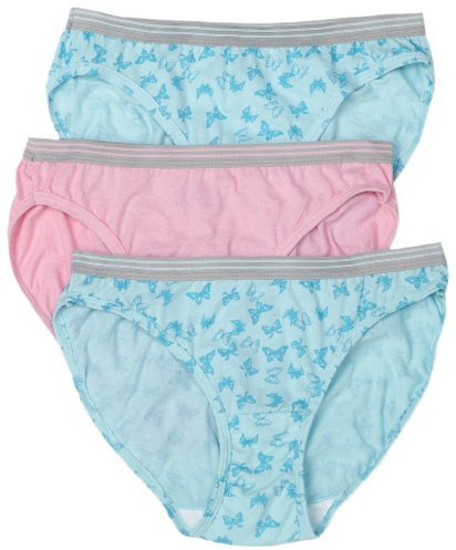 Fruit of the Loom Ladies Heather Cotton Bikini Panty - 6 Pack