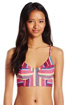 Billabong Women's Meshin with You Crop Bikini Top