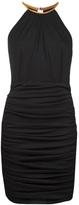 Gomez-Gracia Gomez Gracia round neck halter dress
