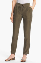 Theory 'Sidonia T.' Ankle Silk Pants