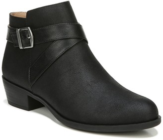 LifeStride Ally Buckle Strap Bootie - Wide Width Available