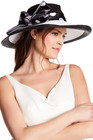 august hat blossom romantic profile