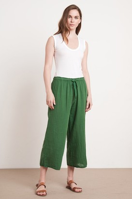 Velvet by Graham & Spencer Nyleen Cotton Gauze Pant