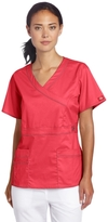 Dickies Scrubs Women's Gen Flex Mock-Wrap Shirt