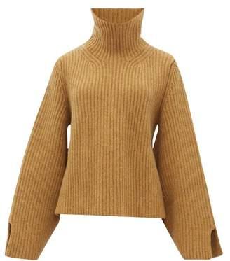KHAITE Molly Roll-neck Cashmere Sweater - Womens - Beige