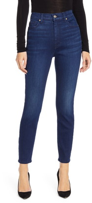 7 For All Mankind Aubrey High Waist Ankle Skinny Jeans