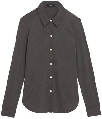 Theory Riduro Organic Cotton Shirt