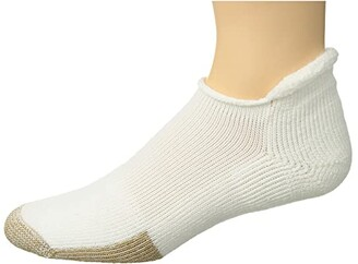 Thorlos Tennis Rolltop Single (White) Low Cut Socks Shoes