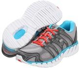 K-Swiss Blade-Max Strong (Gull Gray/Charcoal/Fiji Blue/Hot Coral) - Footwear