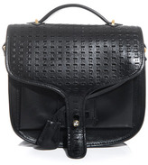 Opening Ceremony Ace perforated-leather satchel