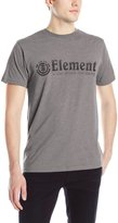 Element Men's Horizontal Push Short Sleeve T-Shirt, Grey Heather