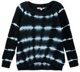 Vintage Havana Open Knit Tie Dye Sweater (Big Girls)