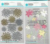 Martha Stewart U Choose Chrysanthemum Lilies 3d Stickers Flowers Lily
