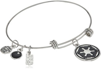 Star Wars Jewelry Galactic Empire Symbol Expandable Charm Bracelet 7.5""