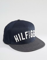 Tommy Hilfiger Thdm Logo Baseball Cap In Black