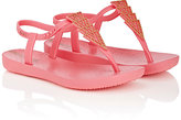Ipanema Deco Rubber T-Strap Sandals-PINK