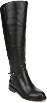 Franco Sarto Leather Wide Calf Boots - Haylie