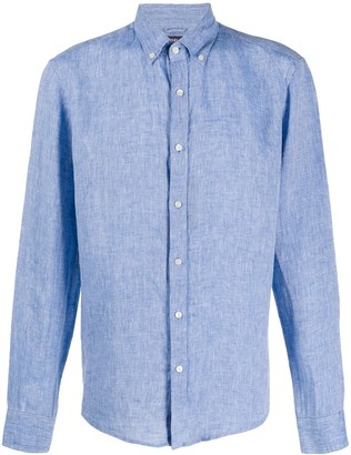 Michael Kors Plain Linen Shirt
