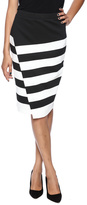 BB Dakota Portia Stripe Skirt