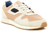 Pony Mesh Suede & Genuine Calf Hair Panel Laced Sneaker