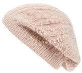 Sole Society Women's Cable Knit Beret - Black