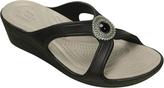 Crocs Women's Sanrah Beaded Wedge Sandal