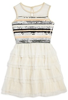 BCBG Girls BCBGirls Girls' Striped Sequin Dress - Big Kid