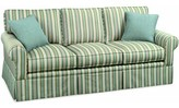 Benton Queen Sofa Bed Sleeper Braxton Culler Fabric: Brown Textured Plain Polyester Blend