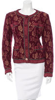 Moschino Cheap & Chic Moschino Cheap and Chic Brocade Floral Print Jacket