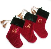 Swarovski Harvey LewisTM Monogram Initial Christmas Stocking Made with Crystals from