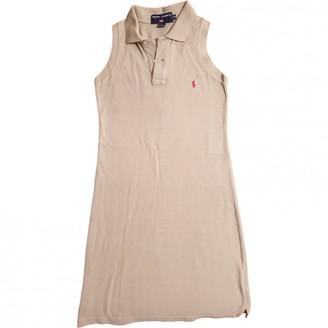 Polo Ralph Lauren Beige Cotton Dress for Women