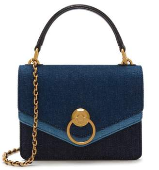Mulberry Small Harlow Satchel Midnight