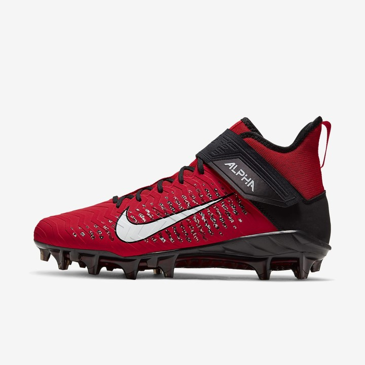 Red And White Football Cleats   Shop
