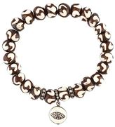 Loree Rodkin beaded diamond charm bracelet