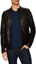 Belstaff Men's Gransden Leather Racer Jacket
