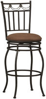 Asstd National Brand Swag Upholstered Bar Stool