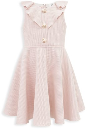 David Charles Little Girl's Ruffle Flower Dress