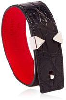 Anonyme Paris Le Lyen Alligator Leather Bracelet