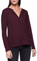 Sanctuary Petite Women's 'Hanna' Split Neck Knit Top