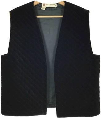 Guy Laroche Black Cotton Knitwear for Women