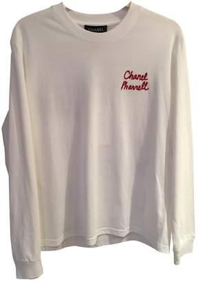 Pharrell Chanel X Williams White Glitter Top for Women
