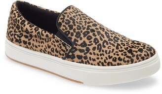 Steve Madden Coulter Genuine Calf Hair Slip-On Sneaker