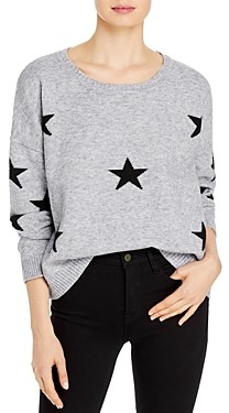 Theo & Spence Oversized Star Print Sweater