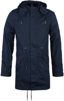Fred Perry Bright Navy Wren Fishtail Parka