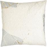 Aviva Stanoff Neutral Luxe White Pillow