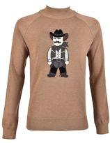 Dolce & Gabbana Cowboy Patch Sweater