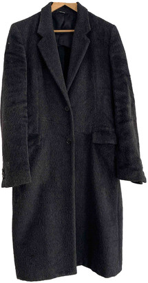 Maison Margiela Black Wool Coats