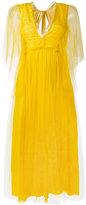 Rochas tie back dress - women - Silk/Polyamide - 42