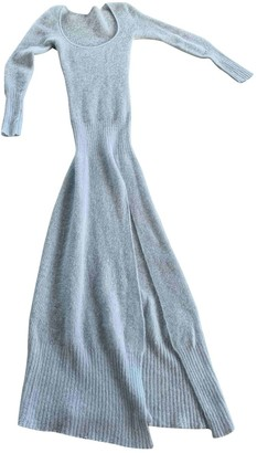 Jacquemus Blue Wool Dresses